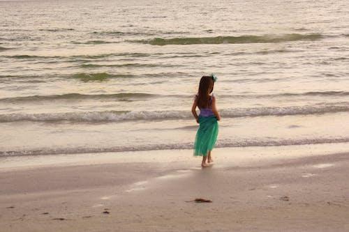 Základová fotografie zdarma na téma malá mořská panna u moře