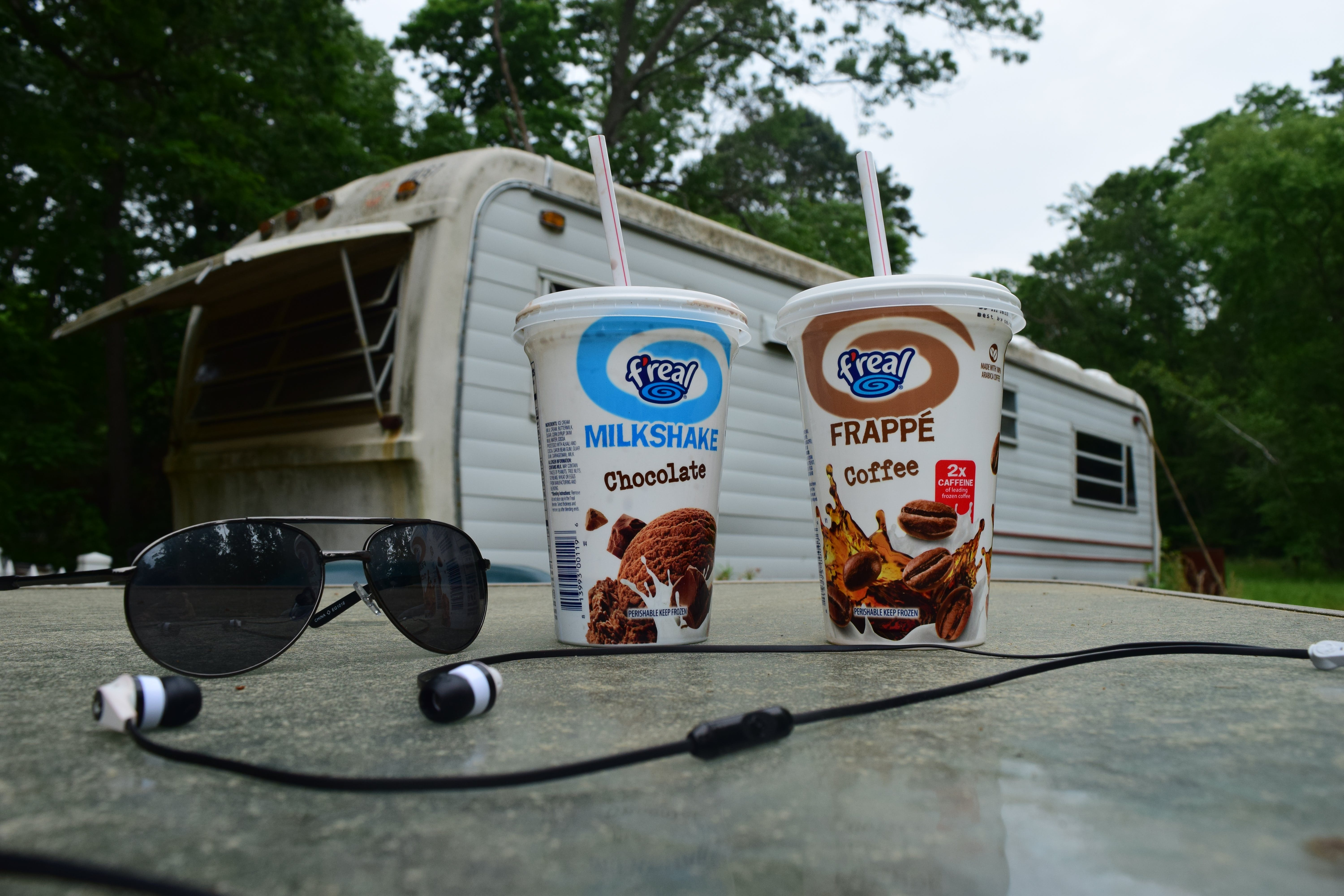 Free stock photo of camper, camping, F'real, headphones