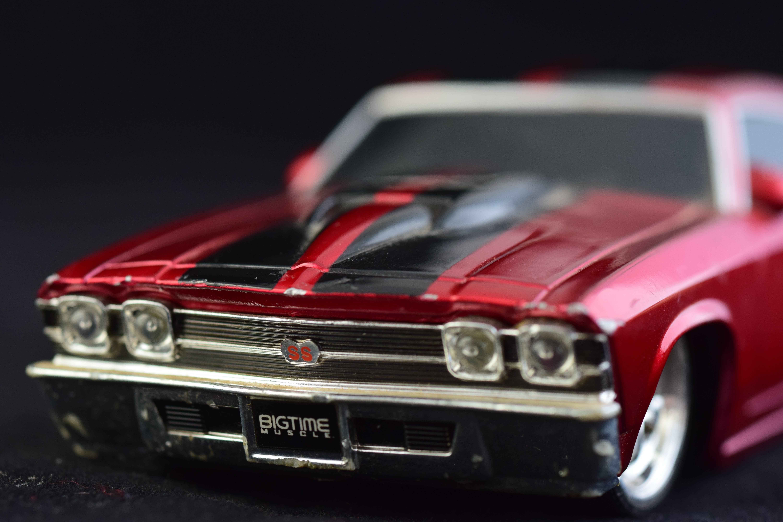Red Chevrolet Chevelle Die-cast Model