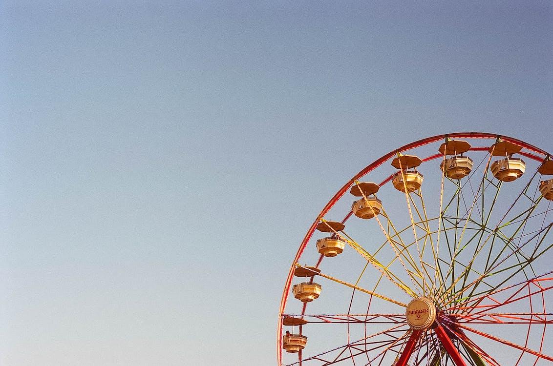Gratis lagerfoto af blå himmel, dagtimer, forlystelsespark