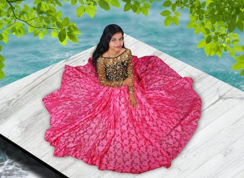 Kostnadsfri bild av indisk flicka