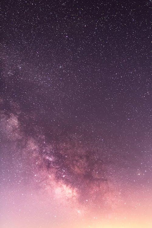 astrologi, astronomi, bakgrundsbild galaxy