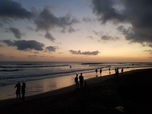 คลังภาพถ่ายฟรี ของ คน, คลิก, ชายหาด, ตะวันลับฟ้า