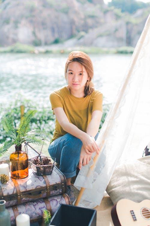 Бесплатное стоковое фото с азиатка, Азиатская девушка, активный отдых, веселье