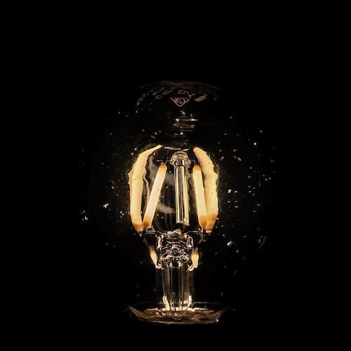 ampul, parlaklık, sarı içeren Ücretsiz stok fotoğraf
