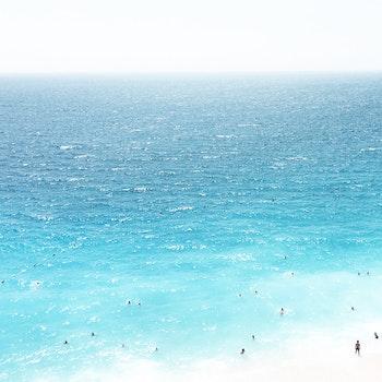Free stock photo of sea, beach, people, water
