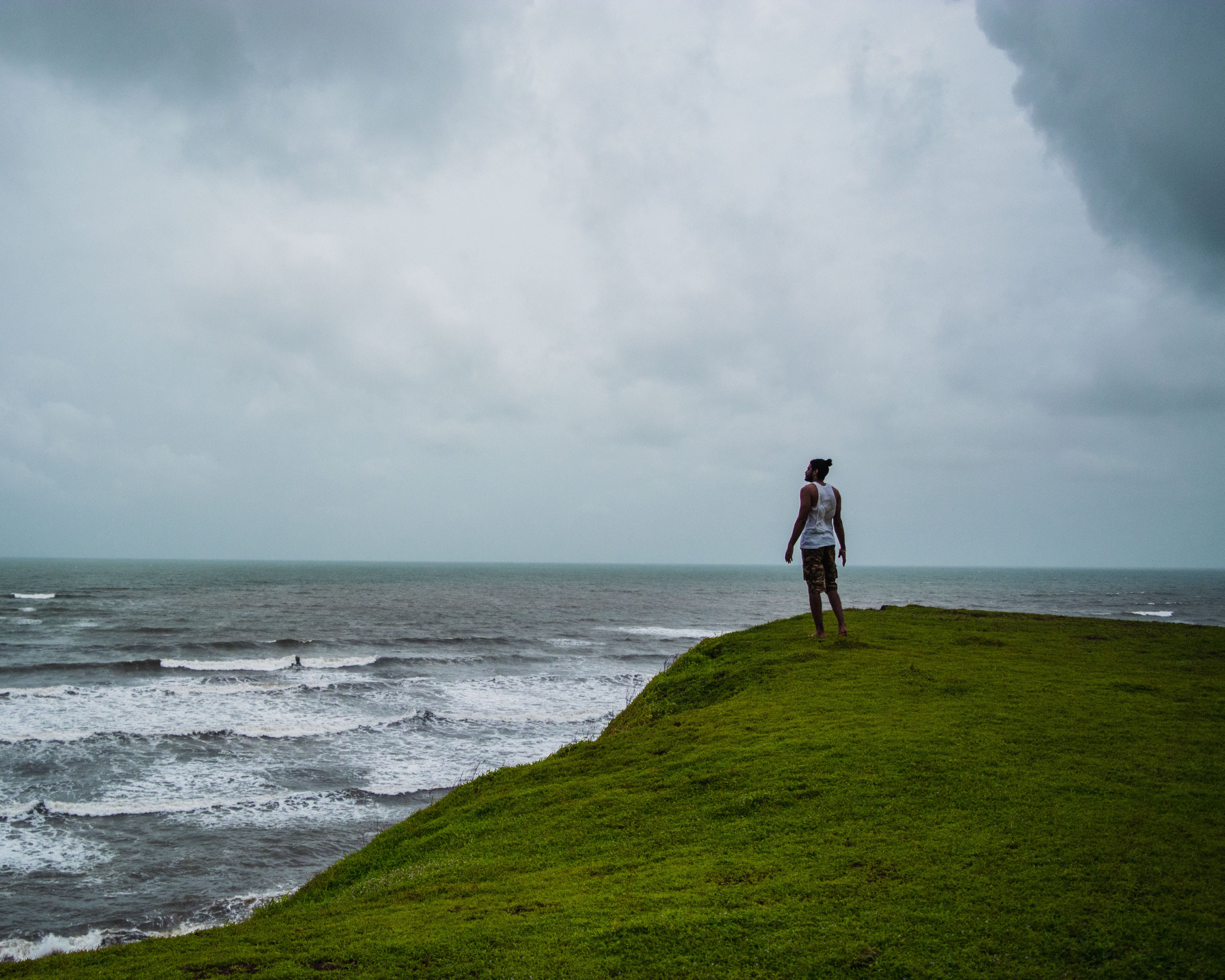 Free stock photo of adventure, alone, backpacker, beach