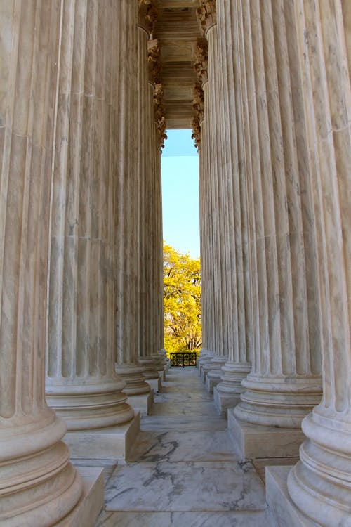 기둥, 법원, 워싱턴 DC, 화강암의 무료 스톡 사진
