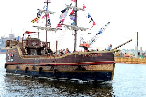 帆船, 海盜, 船 的 免費圖庫相片