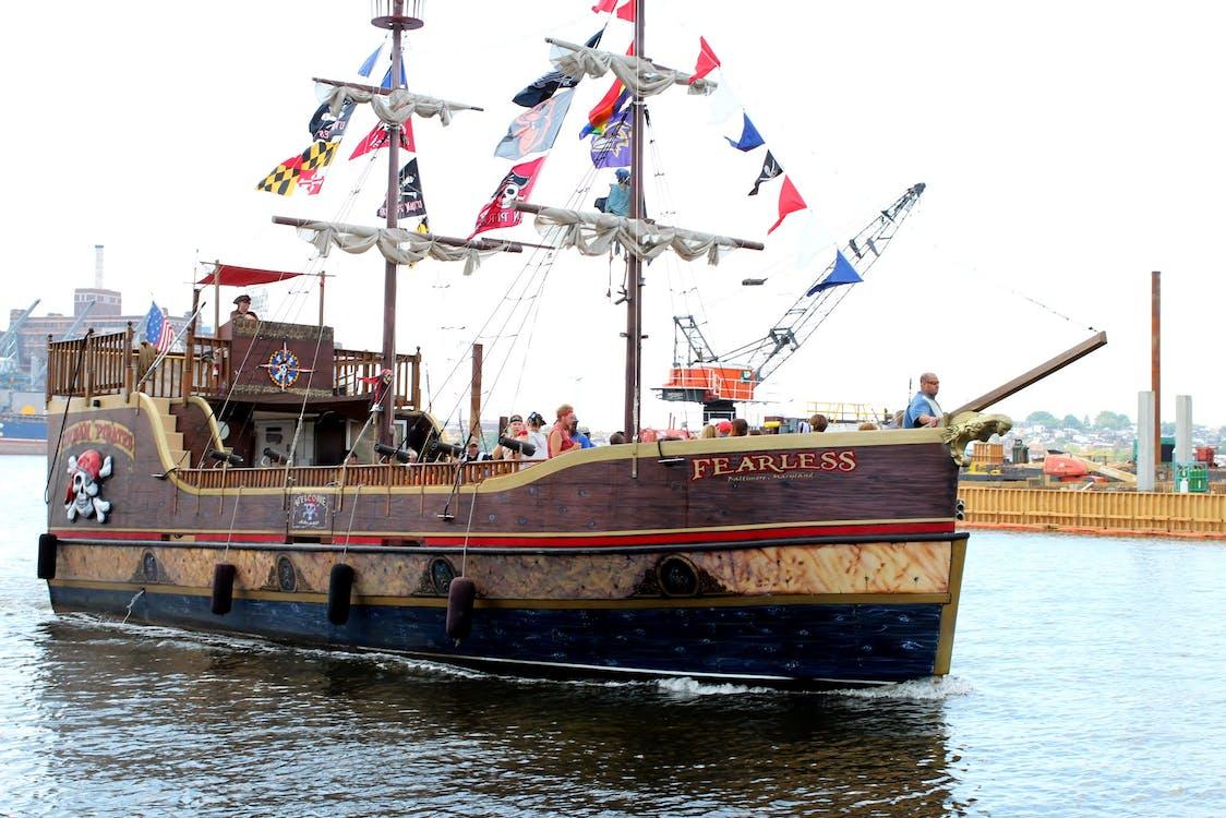 Fotos de stock gratuitas de barca, piratas, velero