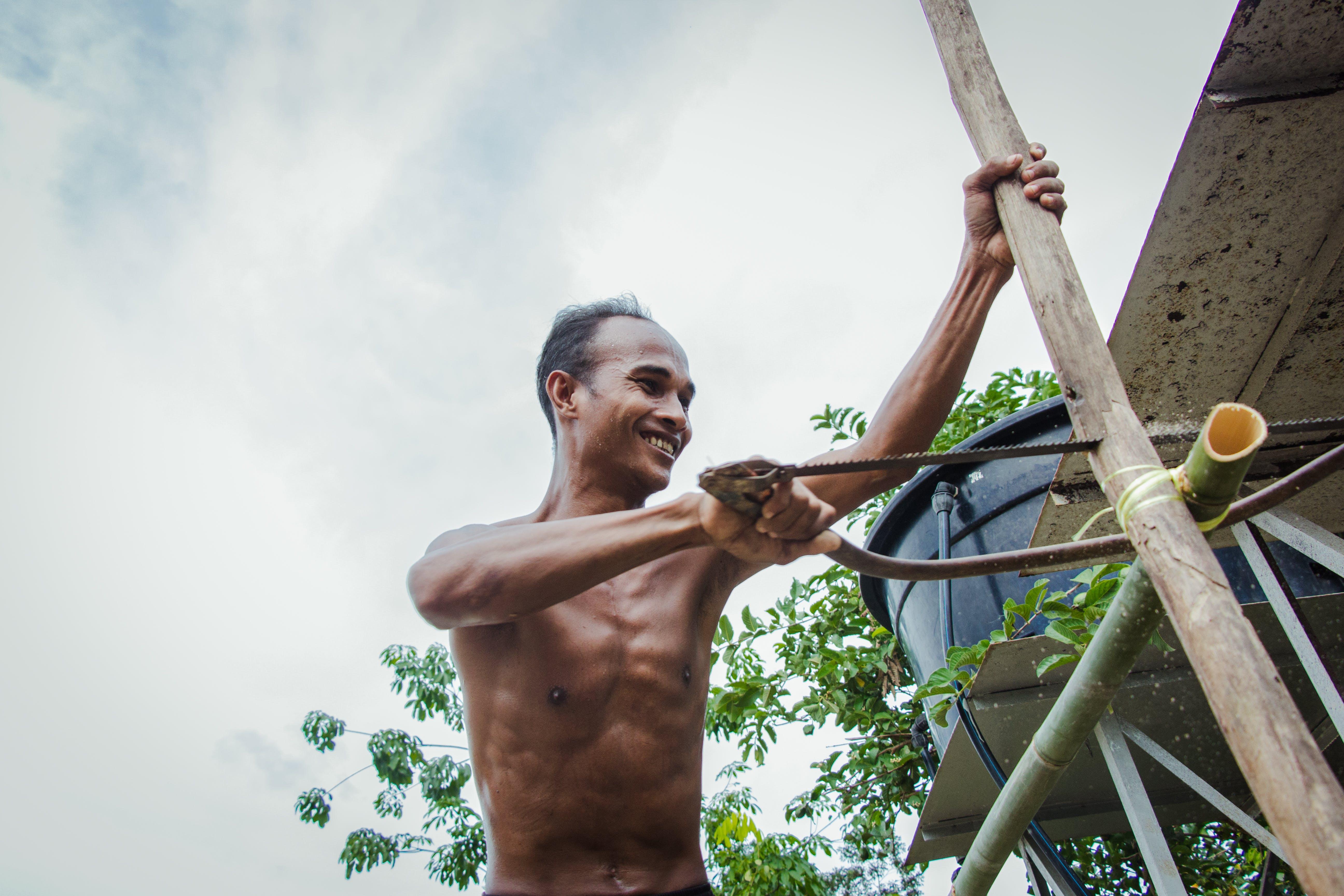 Free stock photo of asian man, hardworking