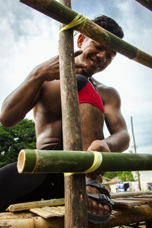 Free stock photo of asian man, hardworking, post