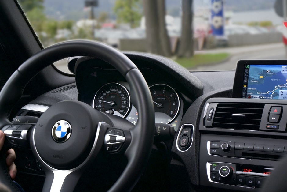 BMW, car, driving