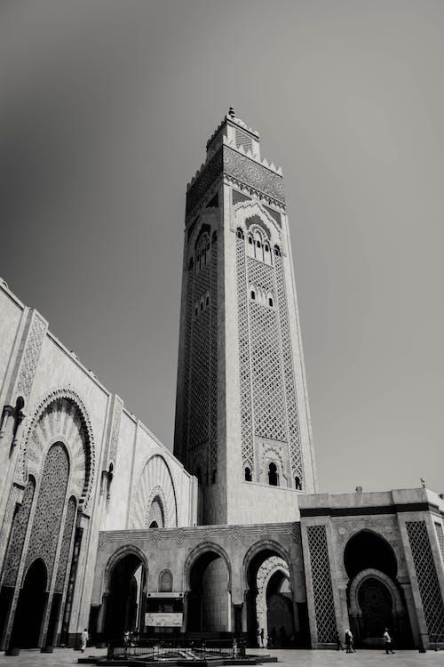 Imagine de stoc gratuită din alb-negru, arcade, arhitectură, clădire