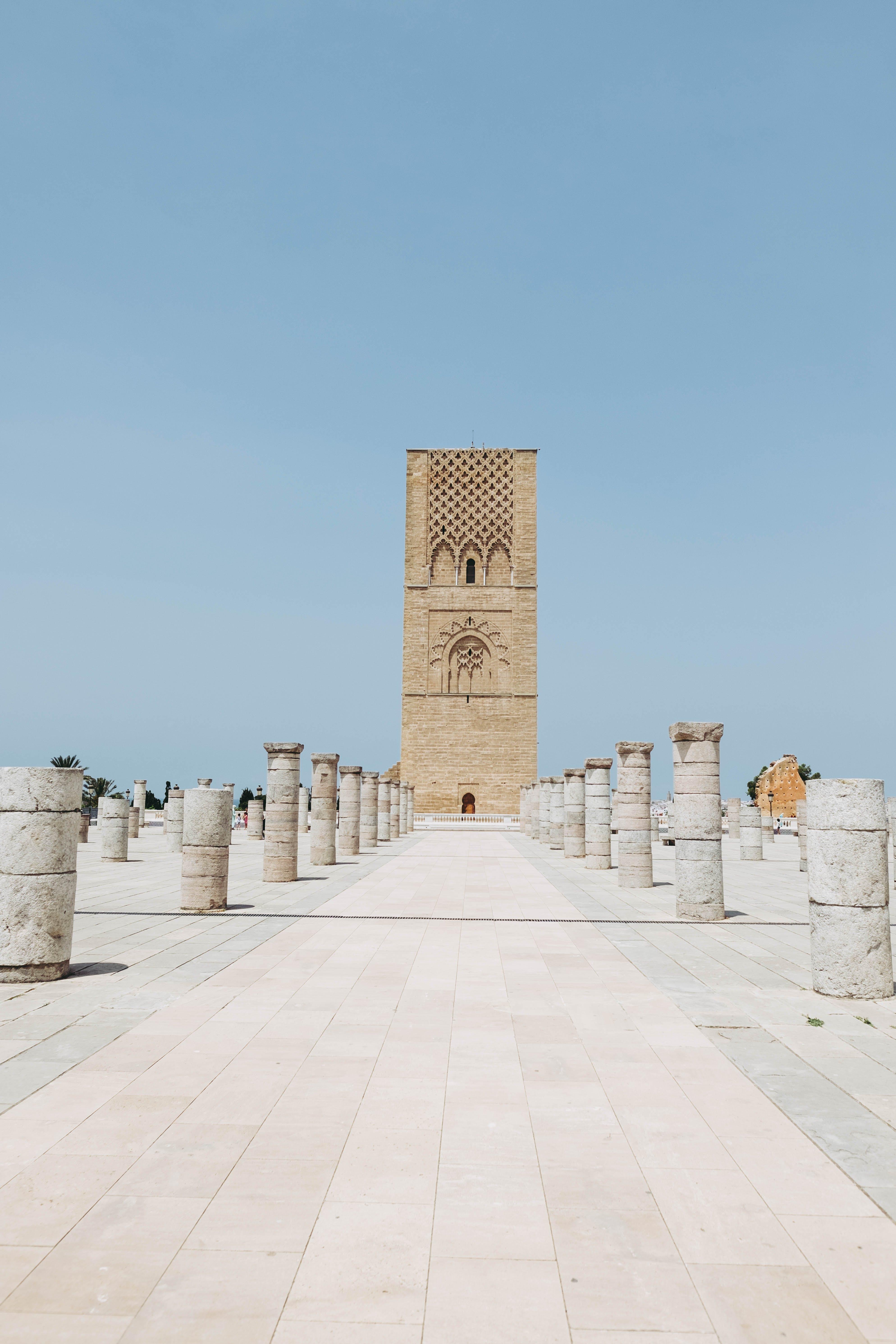 Beige Concrete Monument