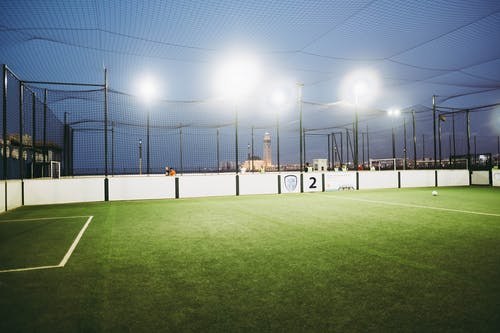 Soccer Field at Nighttime