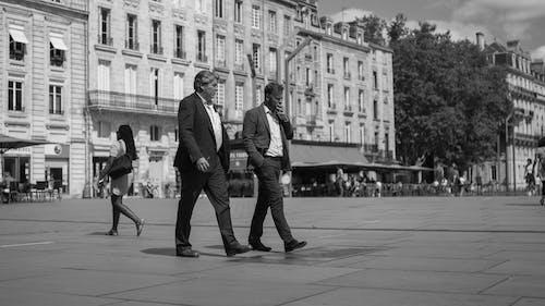 スーツ, スタイル, ストリート写真, モンスールの無料の写真素材