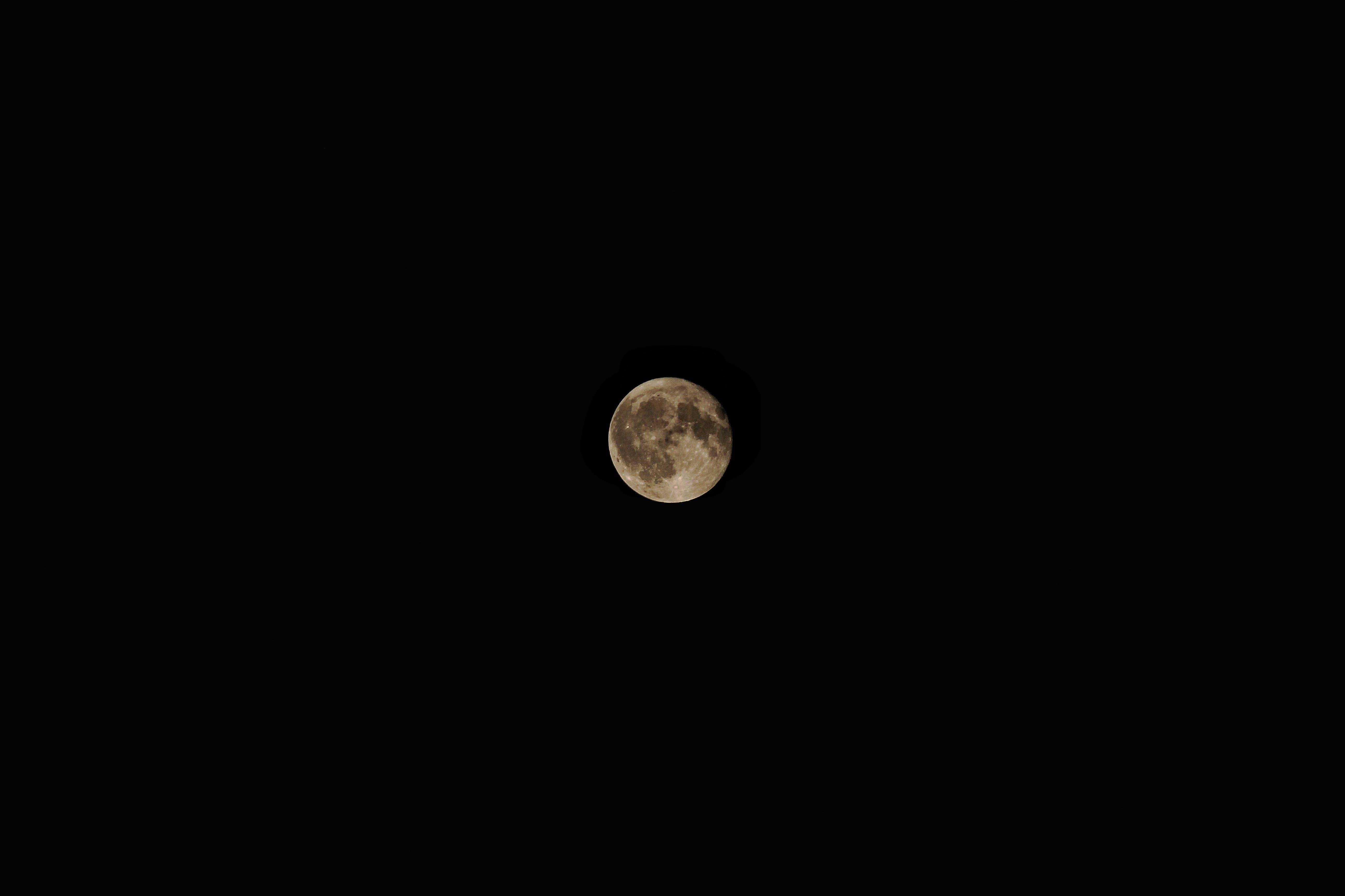 Immagine gratuita di astronomia, chiaro di luna, luna, luna piena