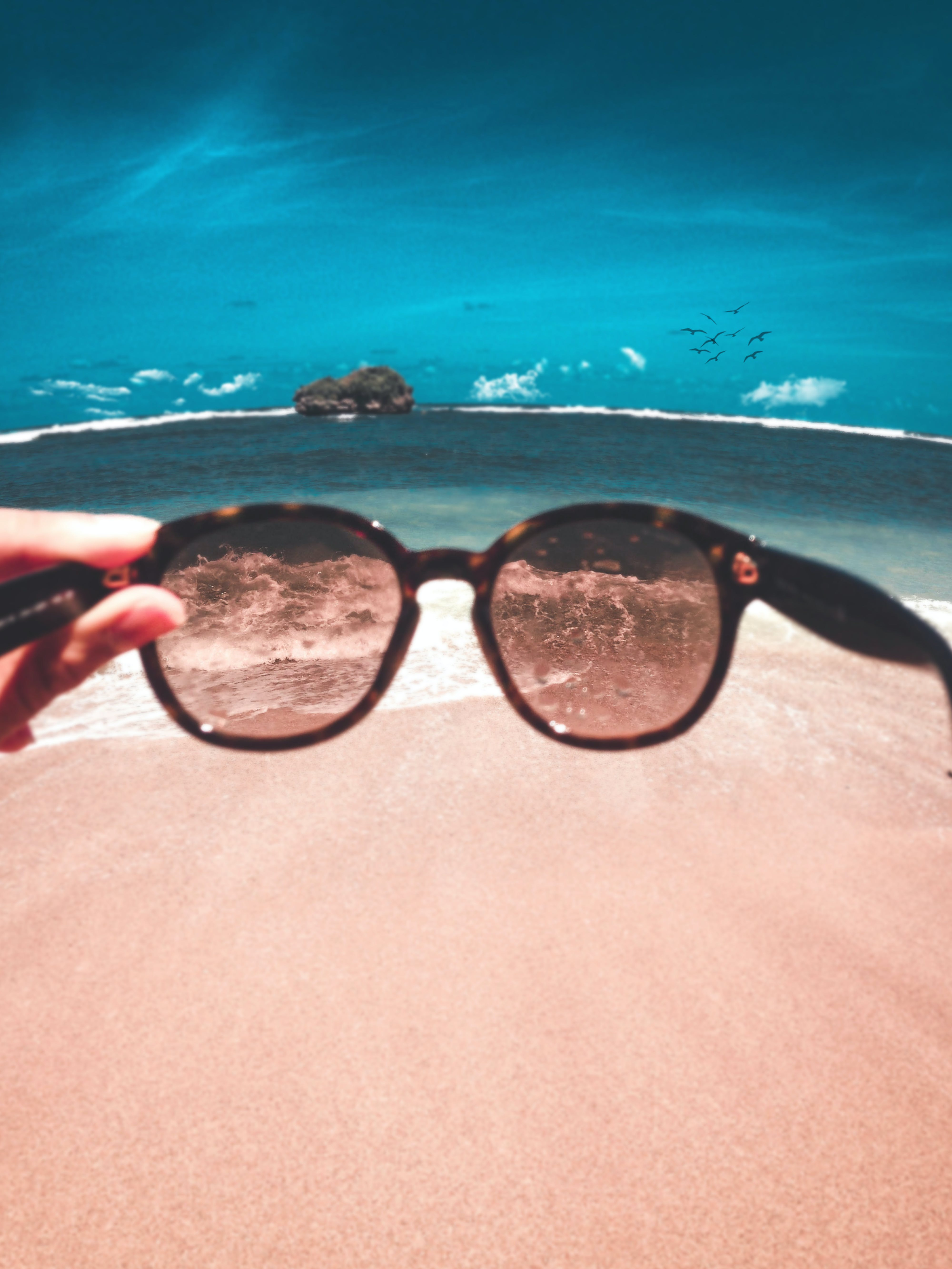 Gratis lagerfoto af afslapning, briller, dagslys, feriested