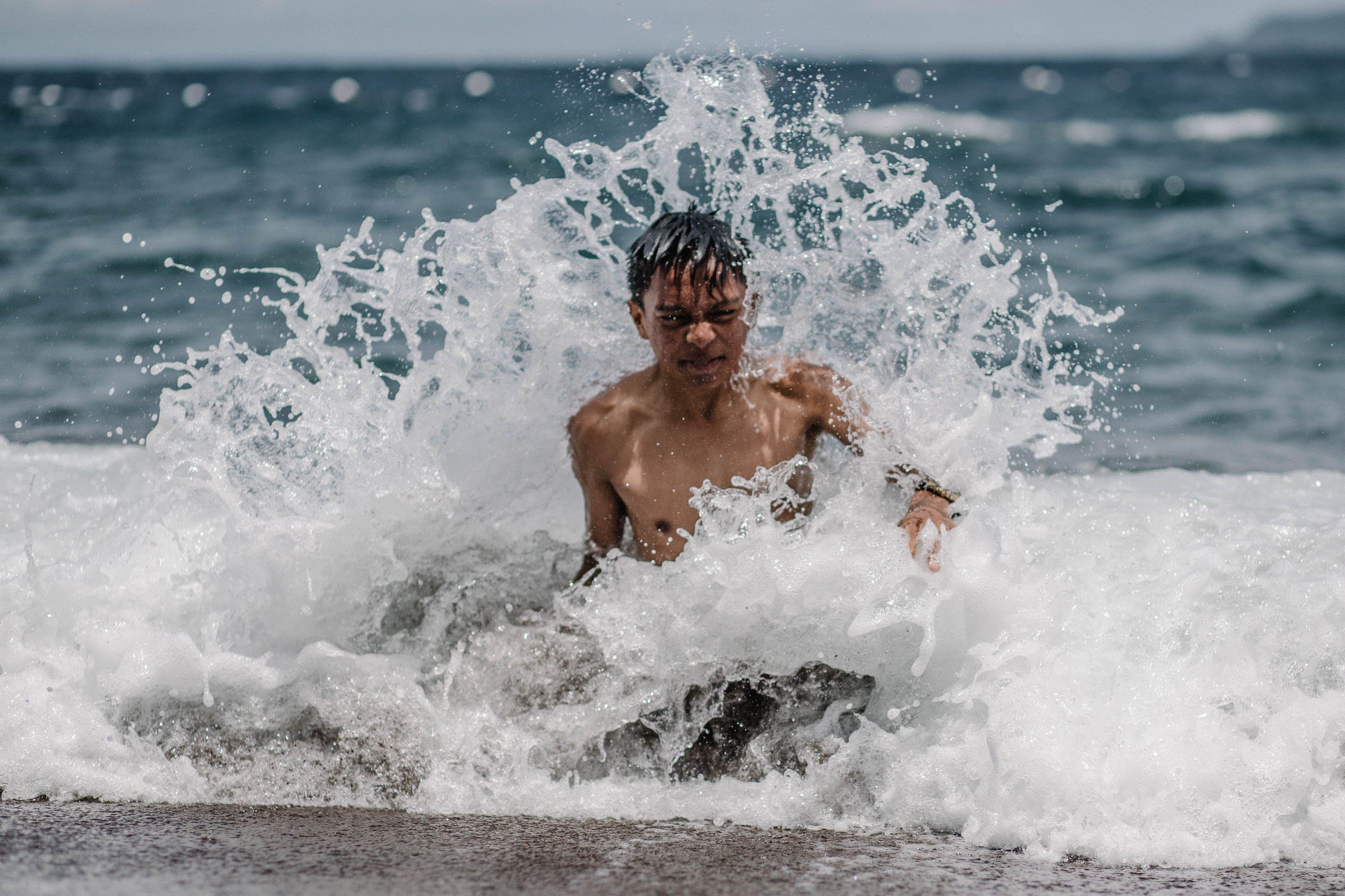 Gratis lagerfoto af bevægelse, bølger, dagslys, fritid