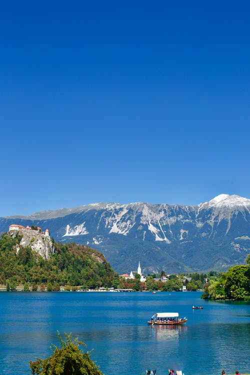 Free stock photo of alps, bled, bled lake, blue