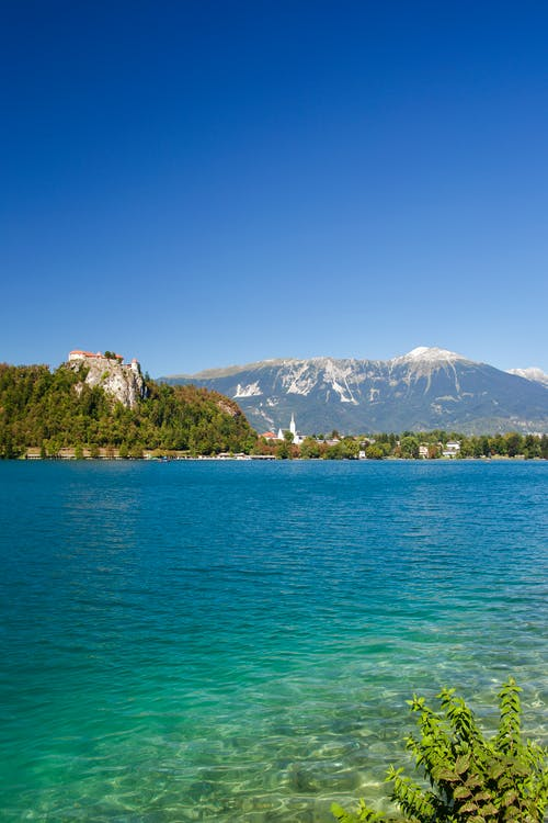 Free stock photo of bled, bled lake, blue, castle