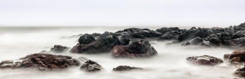 Black Rock Con Nebbia