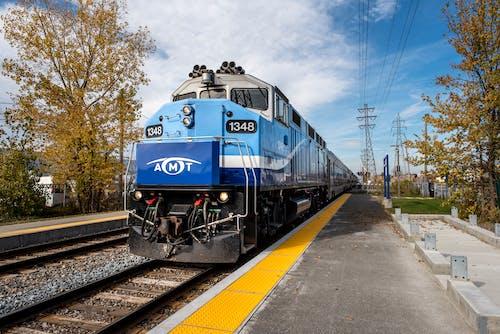 Foto profissional grátis de amt, deslocar-se, estação de trem, ferrovia
