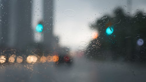 Free stock photo of blurry lights, cars, city lights