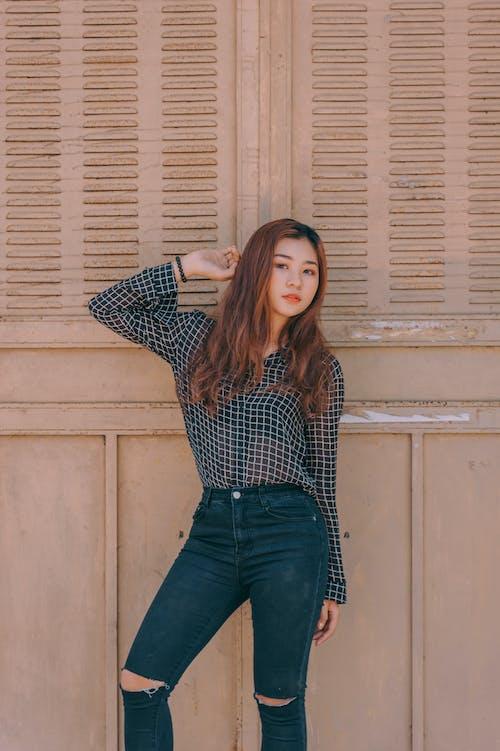 Foto d'estoc gratuïta de asiàtica, atractiu, bonic, cabell
