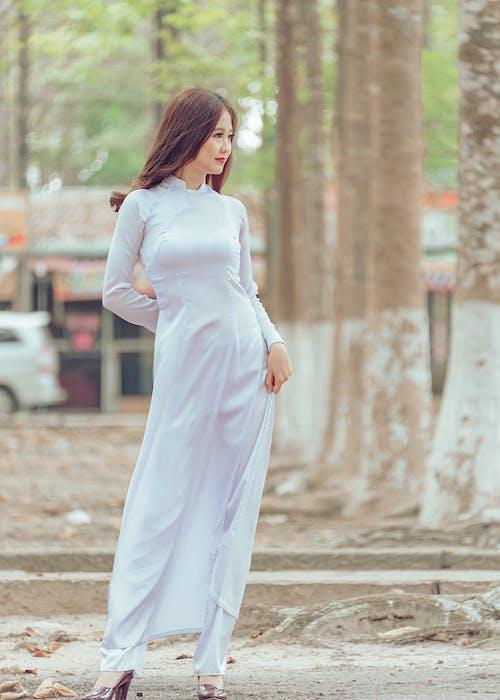 나무, 낮, 드레스, 머리의 무료 스톡 사진