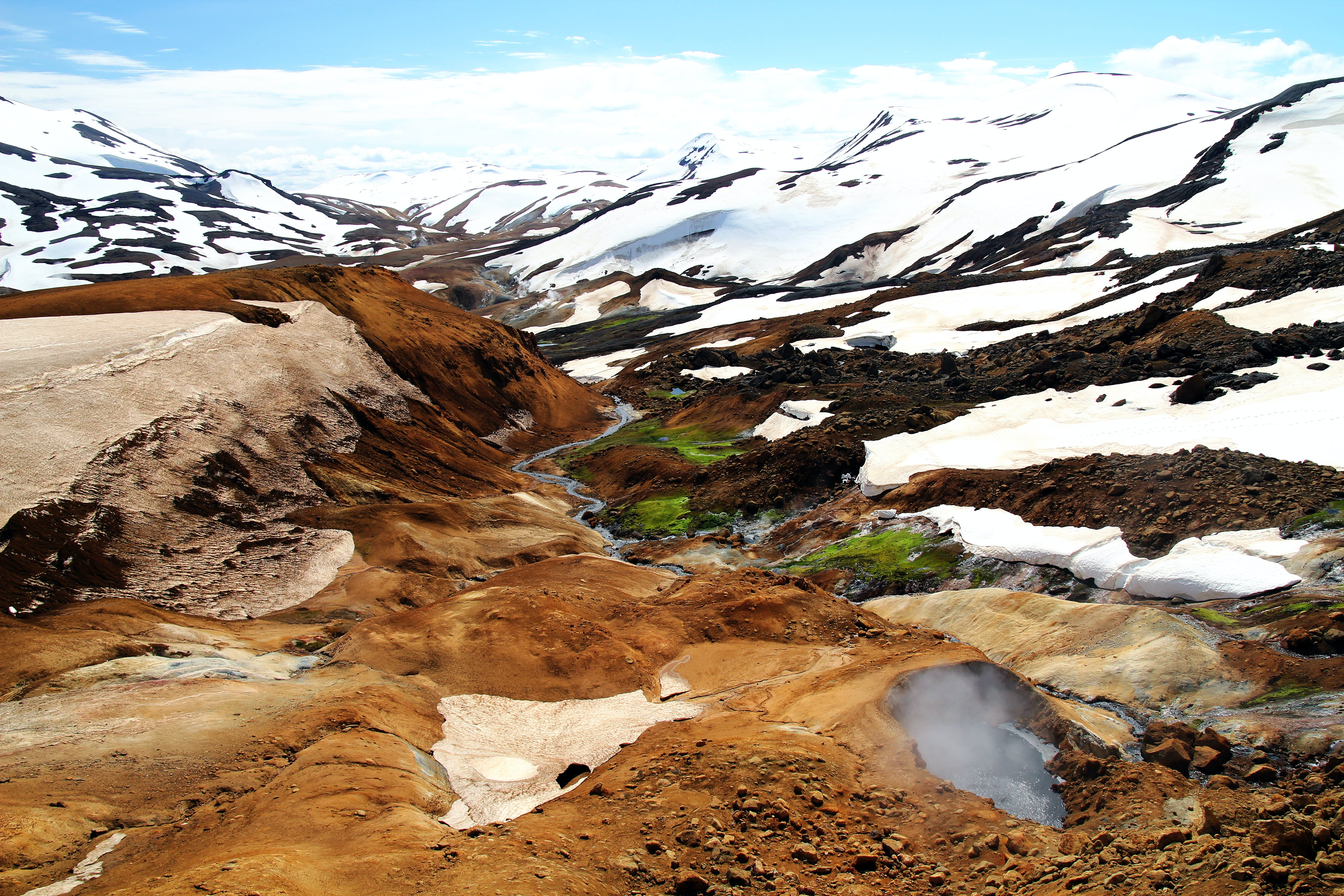 Free stock photo of iceland, mountains, panorama, scenery