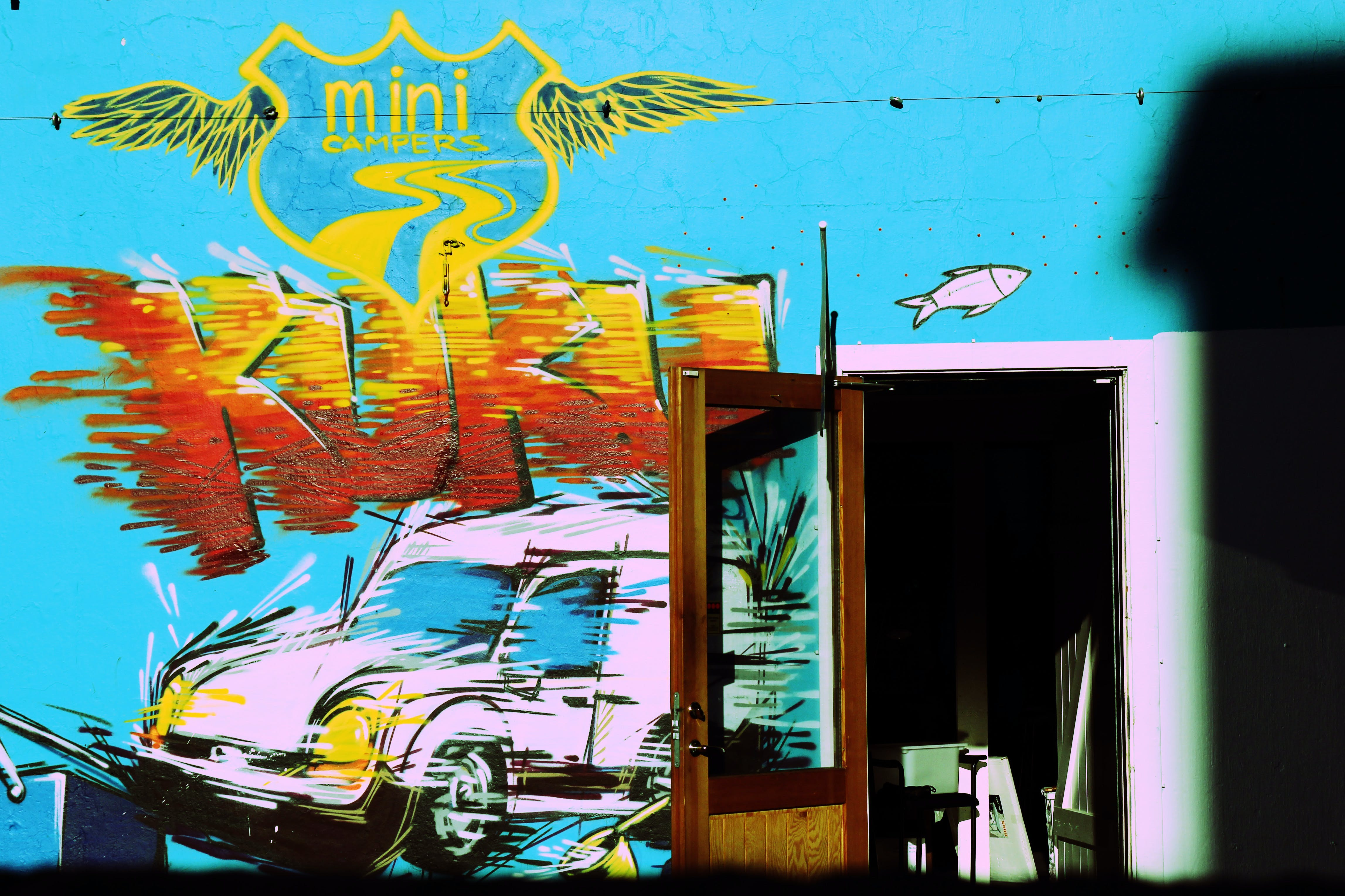 Free stock photo of colors, graffiti, iceland, street