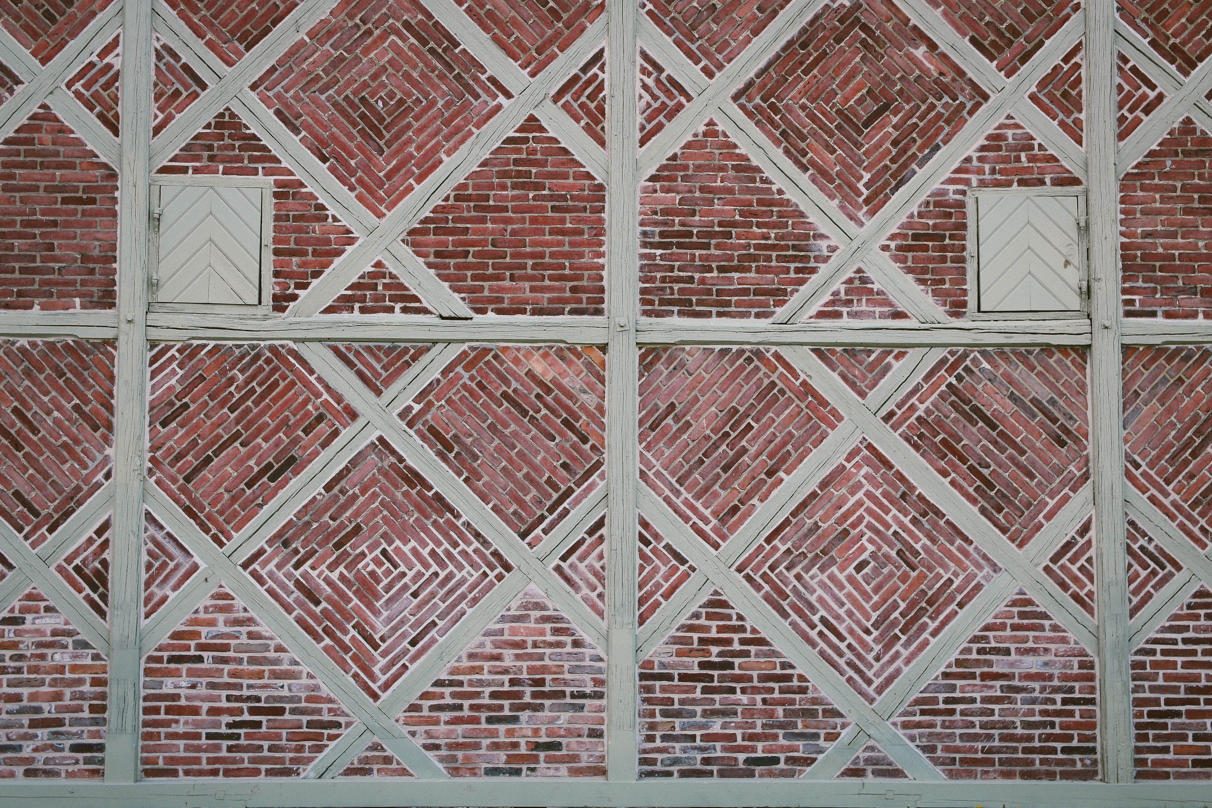 Free stock photo of architecture, brick, brick texture, brick wall