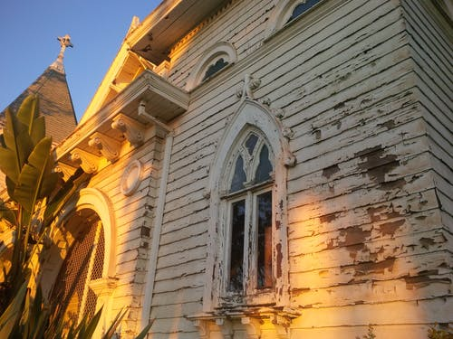Free stock photo of church, gothic, paint, peeling