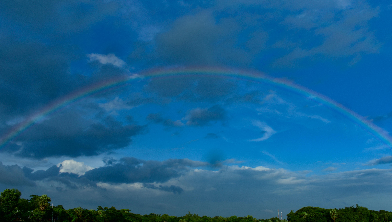 Free stock photo of nature, rainbow, Rainbow sky