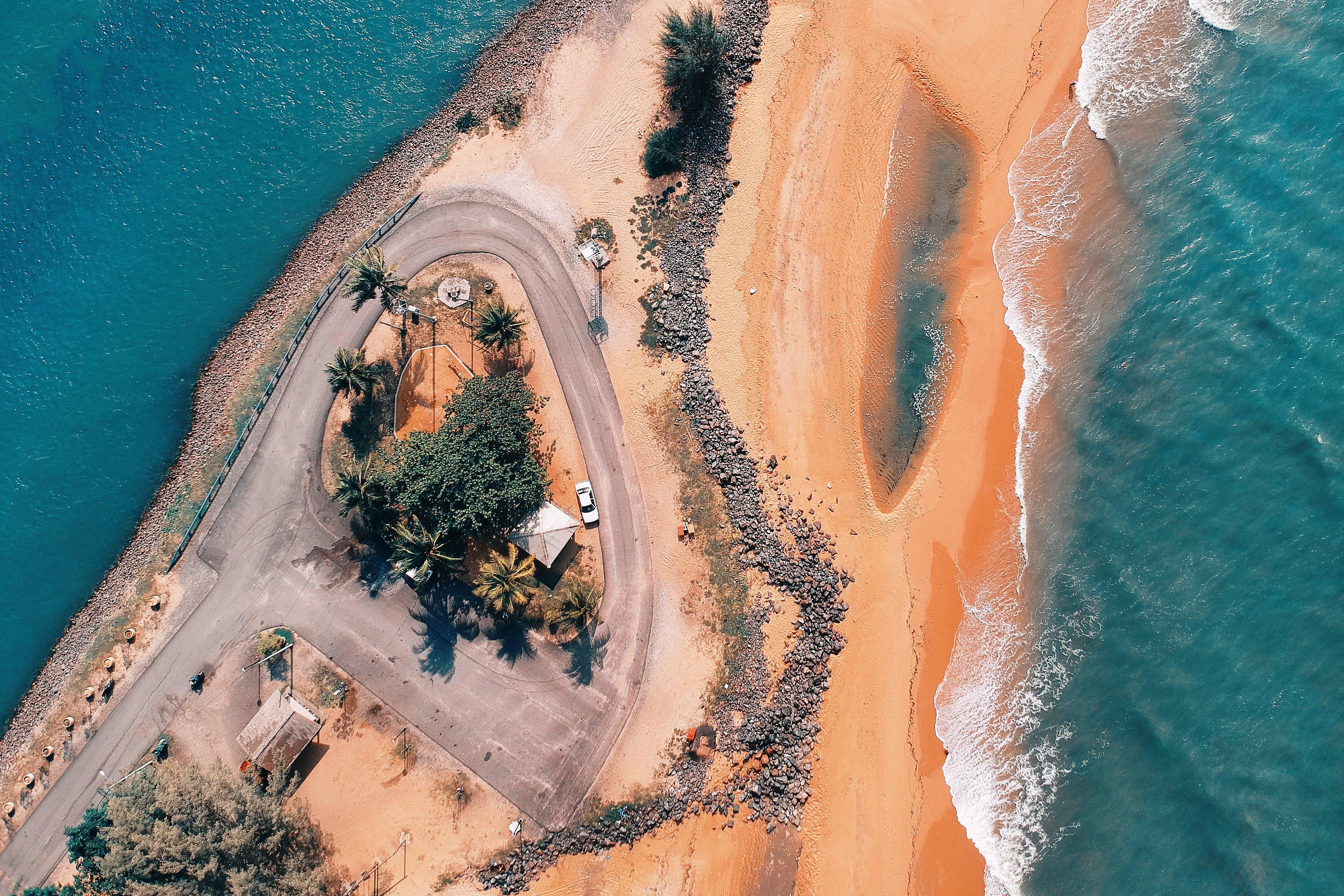 คลังภาพถ่ายฟรี ของ H2O, คลื่น, ชายหาด, ตอนกลางวัน