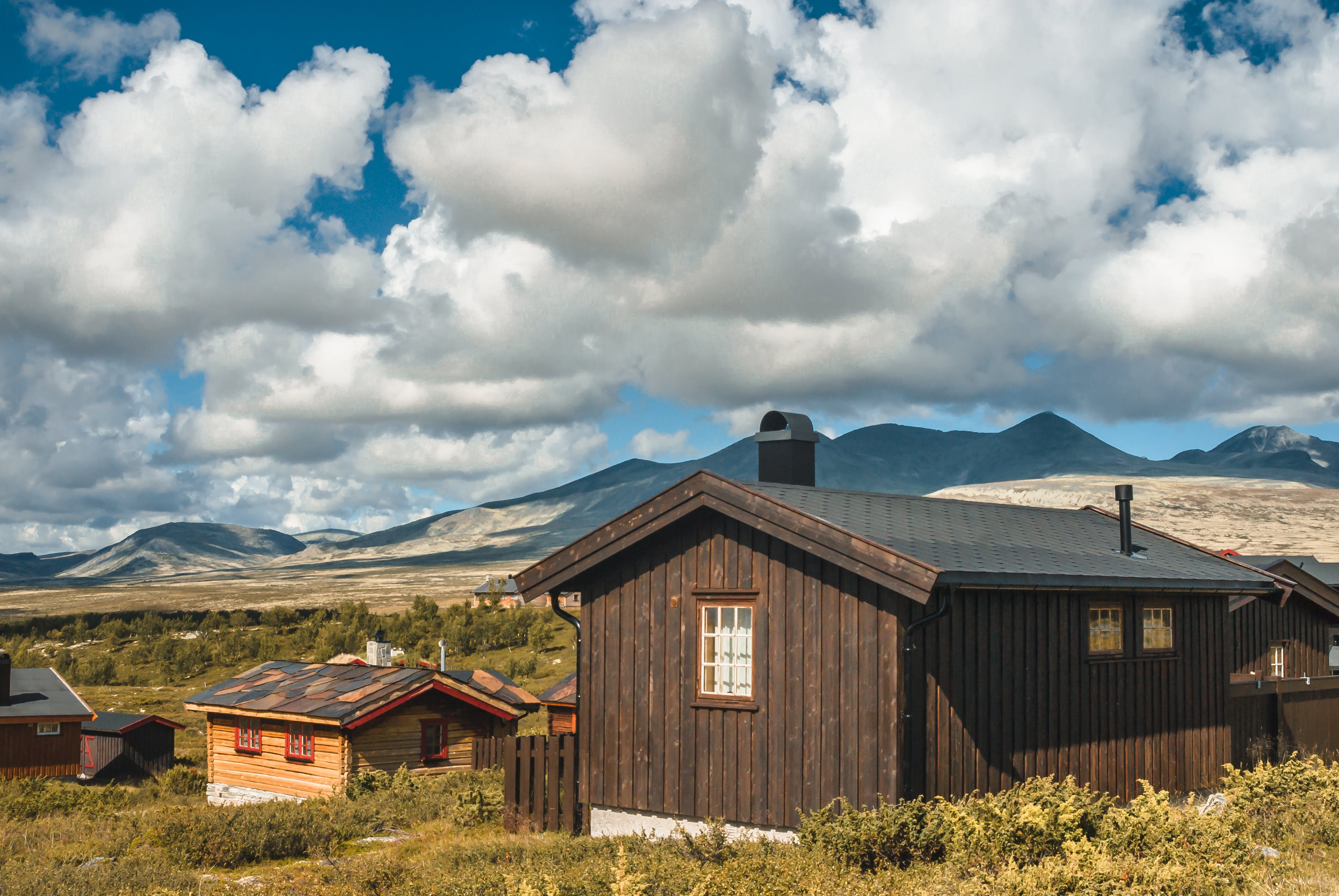 Free stock photo of norway, wooden cabin, wooden house