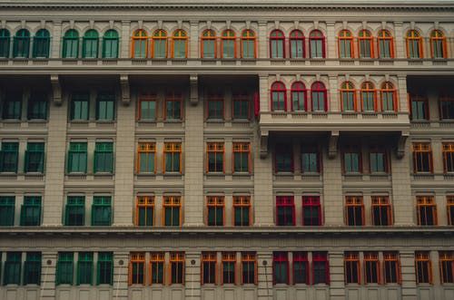 Free stock photo of building, colorful