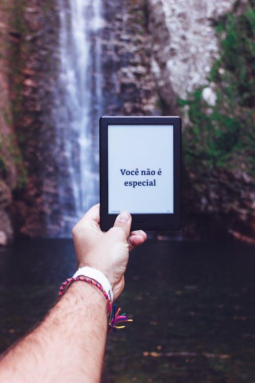 cascada, cascades, Kindle