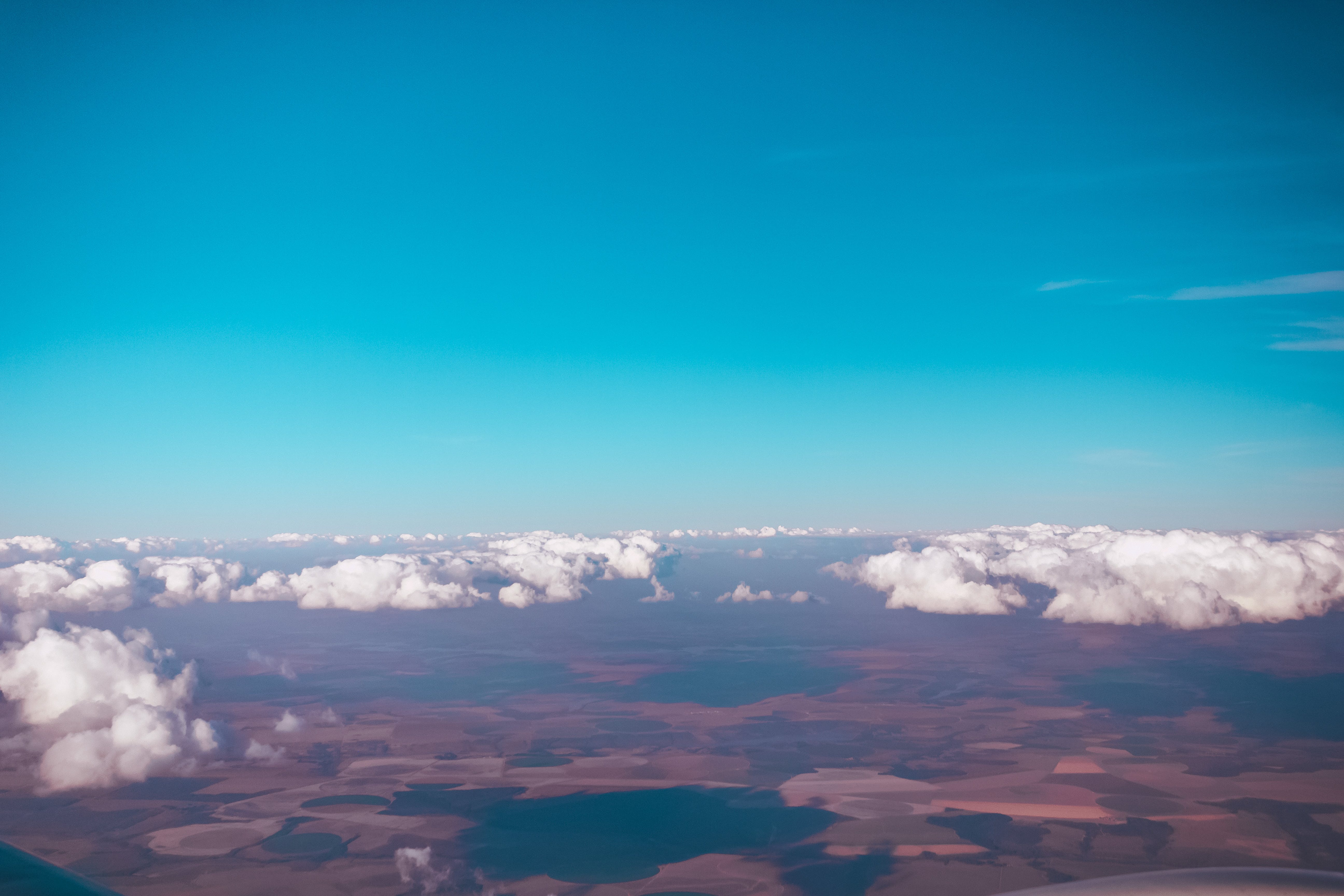 Aerial View Of Sky