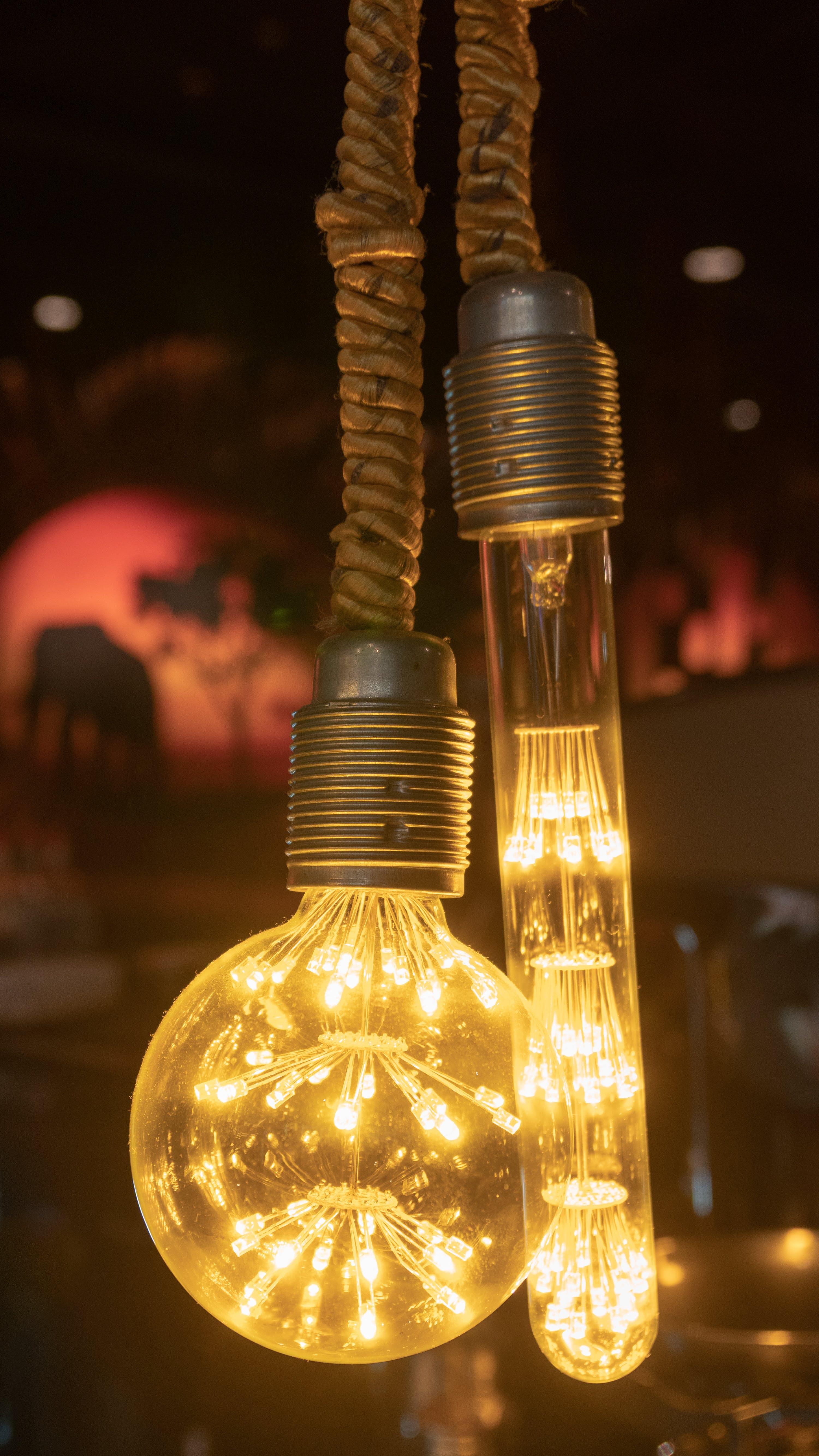 Kostenloses Stock Foto zu beleuchtung, design, lampe