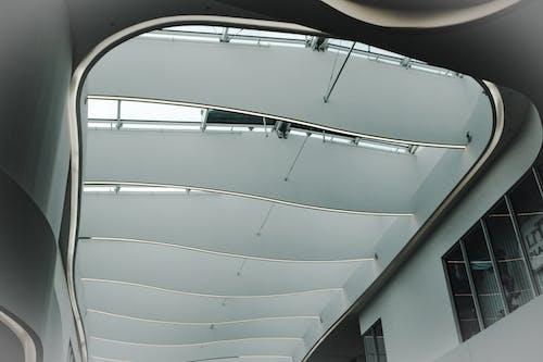 건축, 디자인, 미래적인, 천장의 무료 스톡 사진