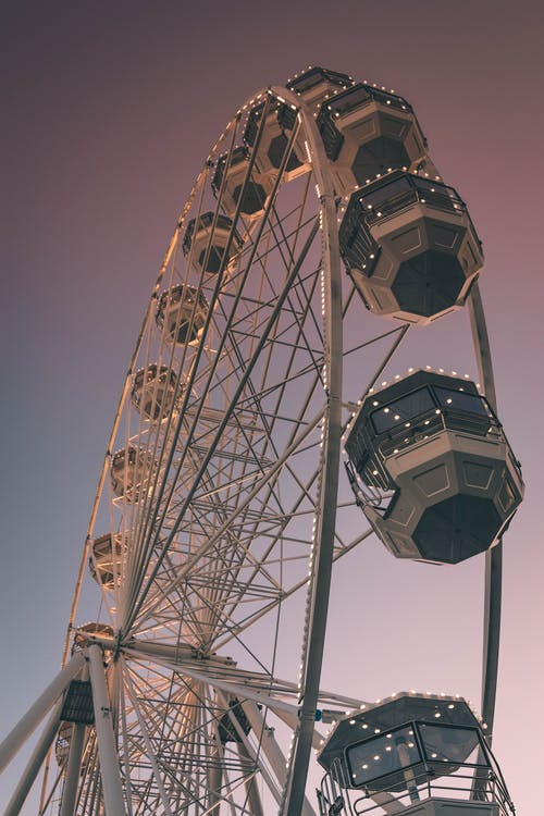 Ferris Wheel During Golden Hour