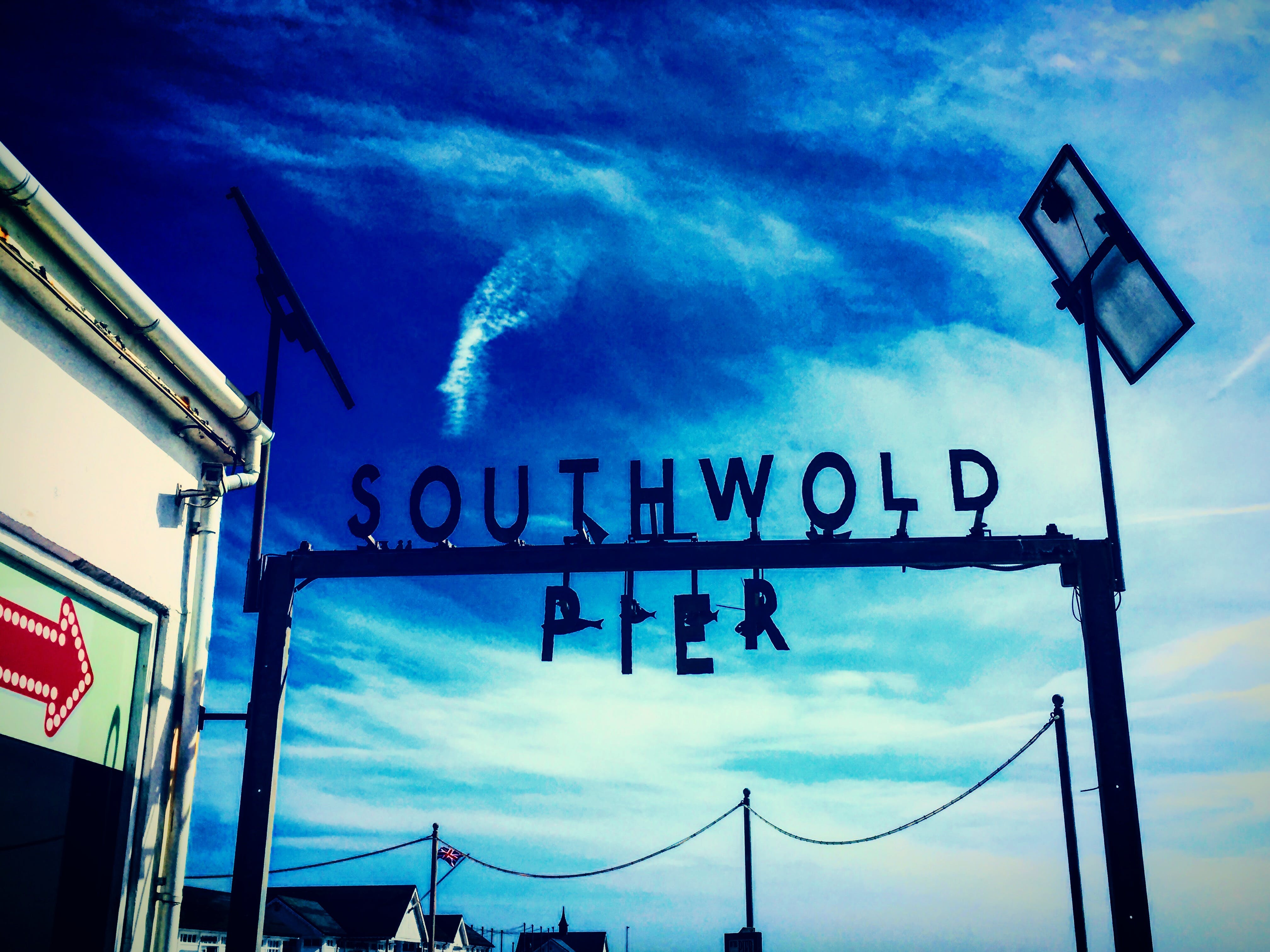 Free stock photo of pier, Southwold