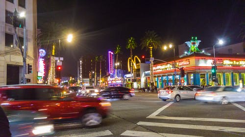 Free stock photo of Downtown Hollywood, hollywood, Hollywood Blvd, LA Street