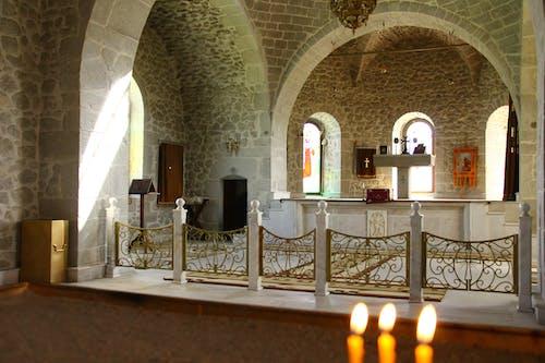 Free stock photo of Armenian architecture, armenian Church, church hall, church interior
