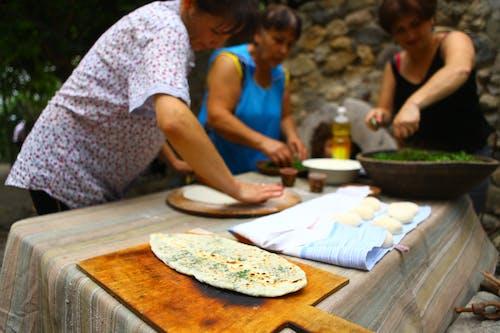Free stock photo of armenia, artsakh, bread with herbs