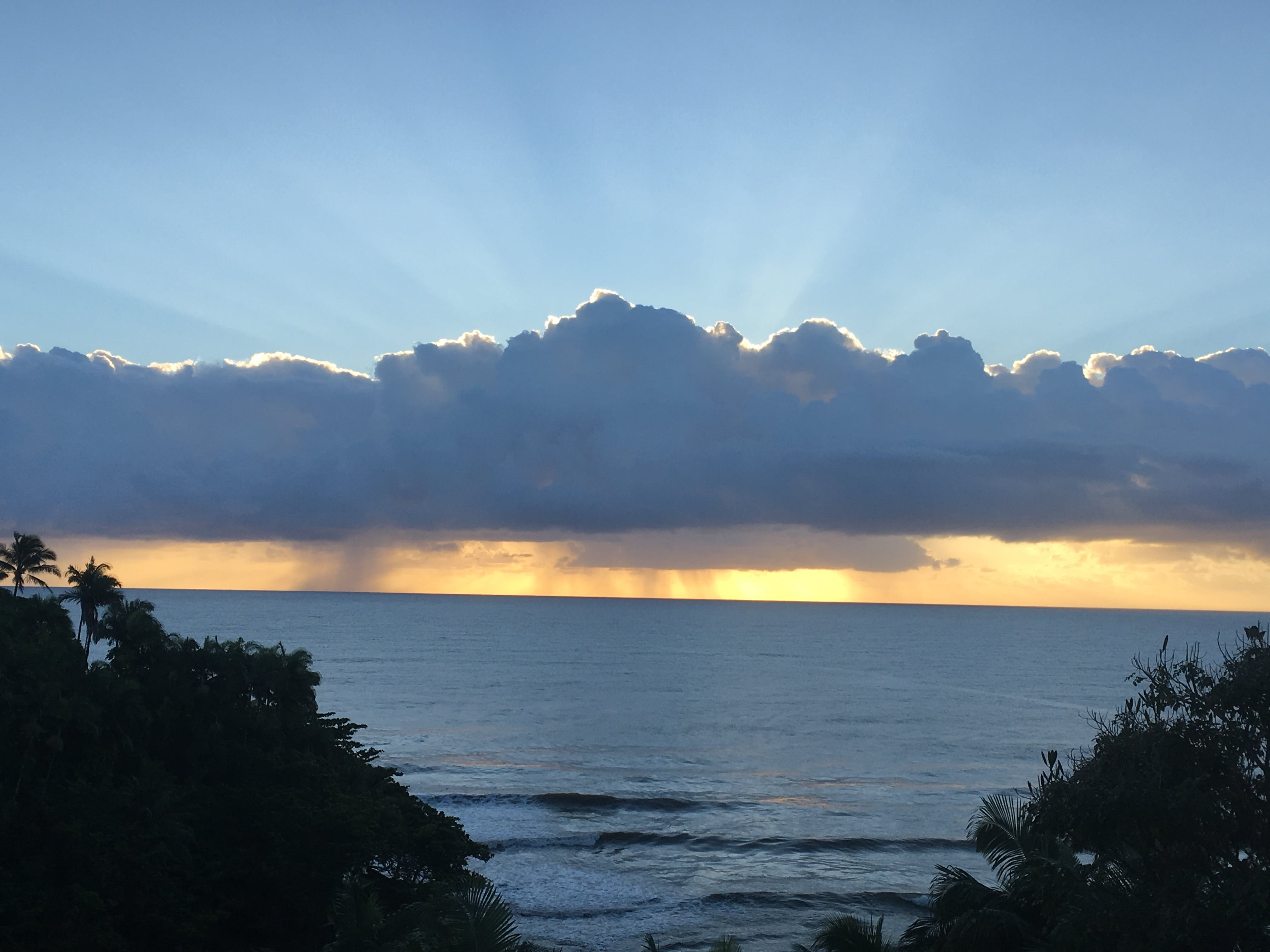 Free stock photo of hawaii, sunset