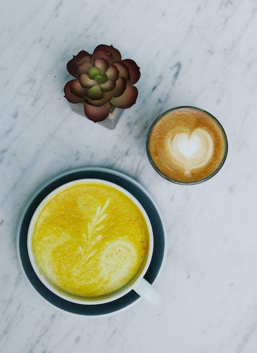 Бесплатное стоковое фото с вкусный, кофе, кофеин, латте